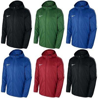 Nike Kids Rain Jackets Junior Boys Windproof Wind Breaker Lightweight  Raincoat | eBay