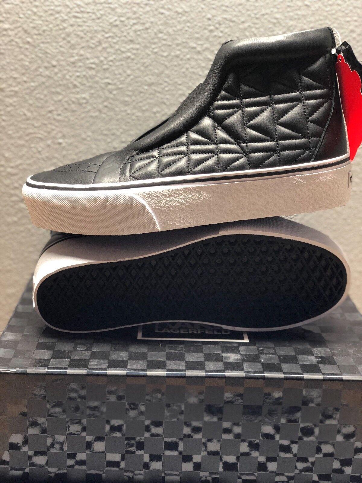 Nuevas Vans X Karl Lagerfeld SK8-HI Salón Plataforma US Hombre EE. UU. Mujer