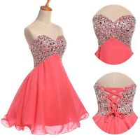 MINI Short Homecoming Dress Cocktail Prom Evening Gowns Party Bridesmaid Dress