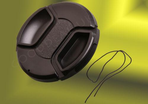 Cámara 52mm Lente Frontal Snap-On tapa de pellizco Cubierta Para Nikon Olympus Canon Fujufilm