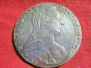 1780 THALER .8330 SILVER MOTHER THERESIA /AUSTRIA /0448