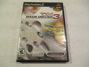 Toca-Race-Driver-3-Ps2-Very-Good-Condtion-With-Manual-Free-Shipping