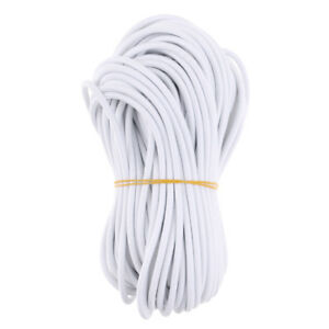 EXTRA STRONG BLACK ELASTIC BUNGEE ROPE SHOCK CORD TIE DOWN 4mm 6mm 8mm 10mm 12mm