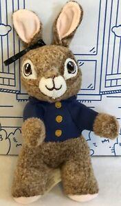 Peter Rabbit Mini Plush Bunny Clip On Key Ring