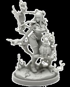 Necromancer-variante-modelo-para-la-muerte-de-resina-figura-Reino