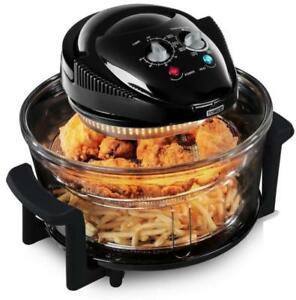 Heissluftfritteuse-Heissluft-Friteuse-Fritoese-Fritteuse-Backofen-12L-Airfryer-DHL