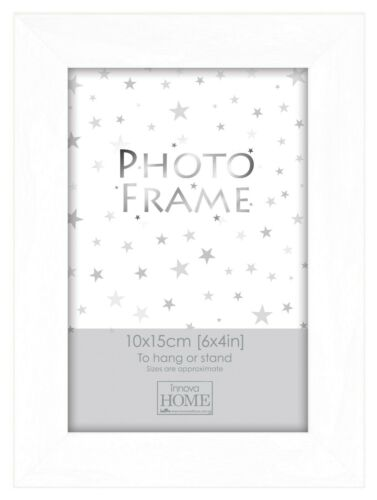 """Set of 5 White Wood Gallery Aperture Photo Frames 6x4/""""7x5/""""10x8/"""" Family Pictures"""