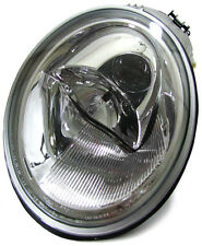 clear chrome finish right side headlight front light for VW New Beetle 98-05