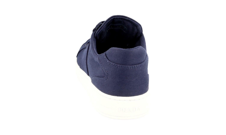 AUTHENTIC LUXURY PRADA baskets chaussures 3E6185 bleu bleu bleu NEW US 6 EU 36 36,5 50b3f9
