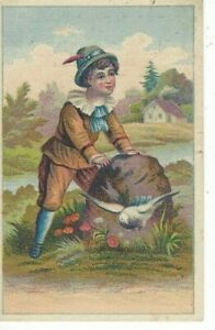 ANTIQUE ADVERTISING / TRADE Card      BRATTON & ANDREWS, TEAS AND COFFEES