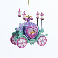 C8533 Pretty As A Princess Carriage Christmas Ornament Prince Ball Stagecoach