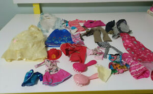 DOLL-CLOTHES-BARBIE-AND-OTHER-BITS-GROUP-LOT