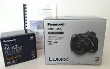 Panasonic LUMIX DMC-G5K 16.0 MP Digital Mirrorless Camera Black with 14-42 lens