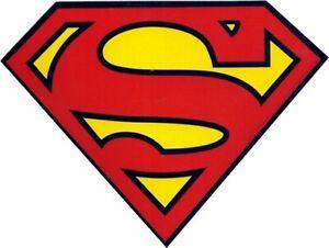 SUPERMAN-Standard-New-Sticker-Decal-dc-comic-movie-super-hero-bumper-car