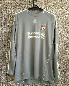 Adidas Liverpool Goalkeeper 2010 11 Gk Football Shirt Soccer Jersey Mens Size L Ebay