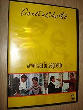 DVD AVVERSARIO SEGRETO AGATHA CHRISTIE MALAVASI