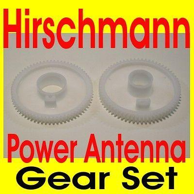 Hirschmann POWER ANTENNA GEAR SET NEW Mercedes Benz 105