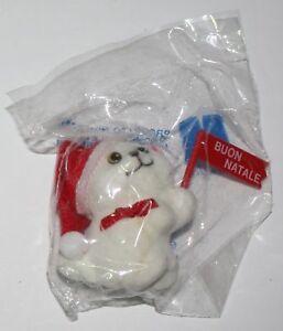 Parmalat Mister Day Buon Natale Gatto Bianco Lungo Ebay
