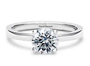 1ct-Diamond-Solitaire-Round-Engagement-Ring-Platinum-I-P-Free-Engraving-UK-Made