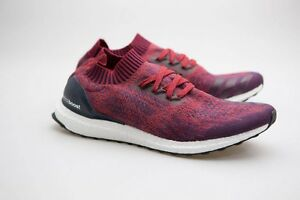 34ed78c3874bc Adidas Men Ultra Boost Uncaged red mystery red collegiate burgundy ...