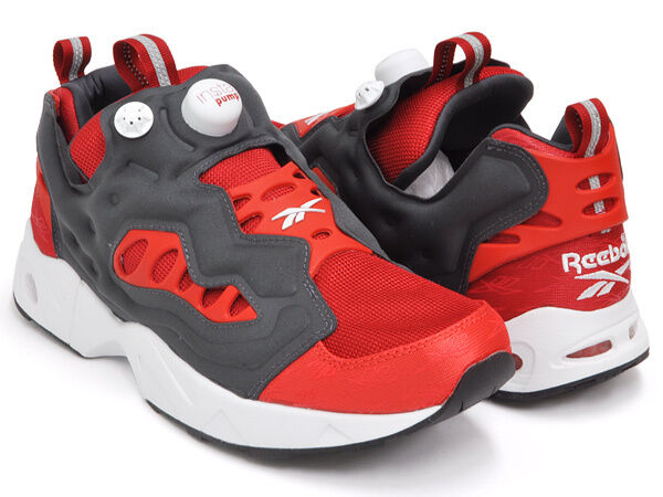 Reebok Uomo Classic INSTAPUMP FURY ROAD Shoe Flash Motor Red New SIZES 5-13