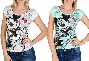2cd3e38fa Caricamento dell immagine in corso 2-Pack-T-shirt-Disney-Alcott-Women-Donna-
