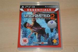 Uncharted-2-Among-Thieves-ps3-Playstation-3-Essentials-Kostenlose-UK-Versand