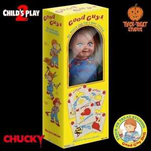 Trick-Or-Treat-Studios-Chucky-Child-039-s-Play-2-Good-Guys-Doll-Licensed-IN-STOCK