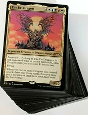 Dragon Tribal ***Custom Commander Deck*** Lathliss Dragon Queen Magic Cards