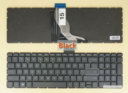 US UI Keyboard for HP 15-cc 15-cd 15-ck 15-bp 15m-bp 15t-bp 15-br 15t-cc Backlit