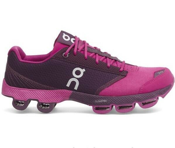 67c1a999975d ... ON CLOUDSTER WOMEN S RUNNING TRAINING TRAINING TRAINING SHOES FUSCHIA  RARE COLOR 100% AUTHENTIC d67d8f ...