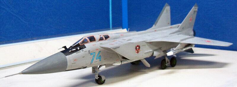 """7244 Airplane /""""Mig-31B/""""  Zvezda Model Kit For Kids Adults"""