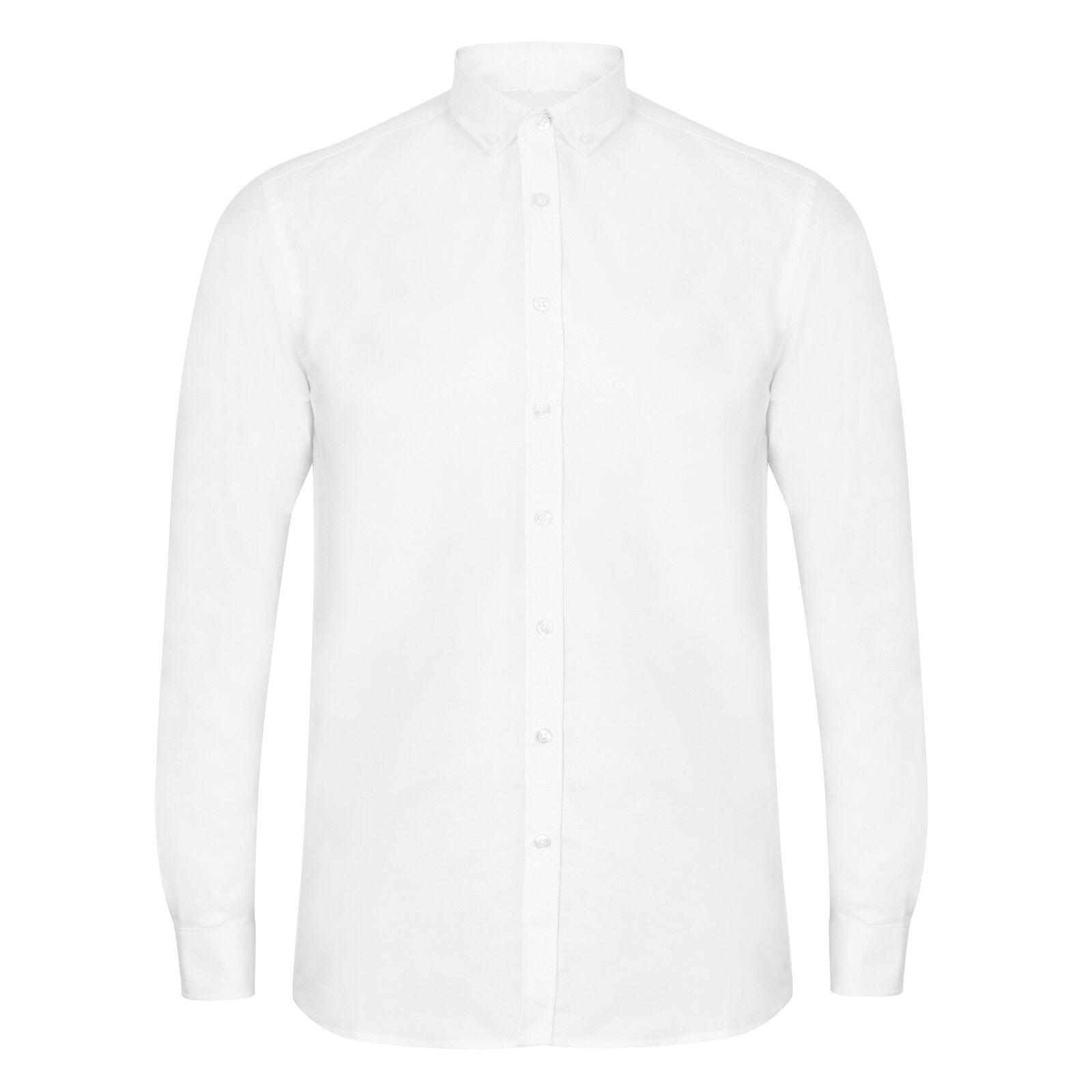 À Moderne xxl Shirt S Oxford H512s Homme Slim Henbury Longues Manches 5q4MEpfCw