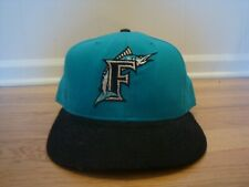 dfacae79bdd770 item 4 VTG Florida Marlins New Era 7 3/8 hat cap 90s Diamond Collection  Teal retro 5950 -VTG Florida Marlins New Era 7 3/8 hat cap 90s Diamond  Collection ...