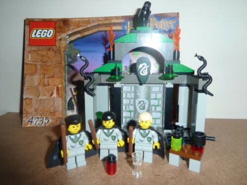 Lego Harry Potter 4735 Slytherin Complete Figures 2 Double Head And