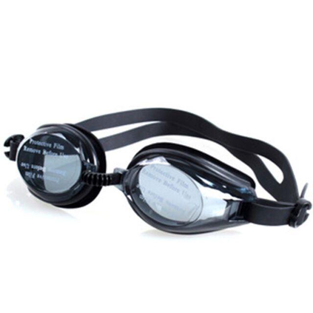 Kids Swimming Goggles Pool Beach Sea Swim Glasses Children Ear Plug Black EF