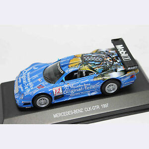 1-43-Car-Model-80008-MERCEDES-BENZ-CLK-GTR-1997-ORIGINAL-TEILE