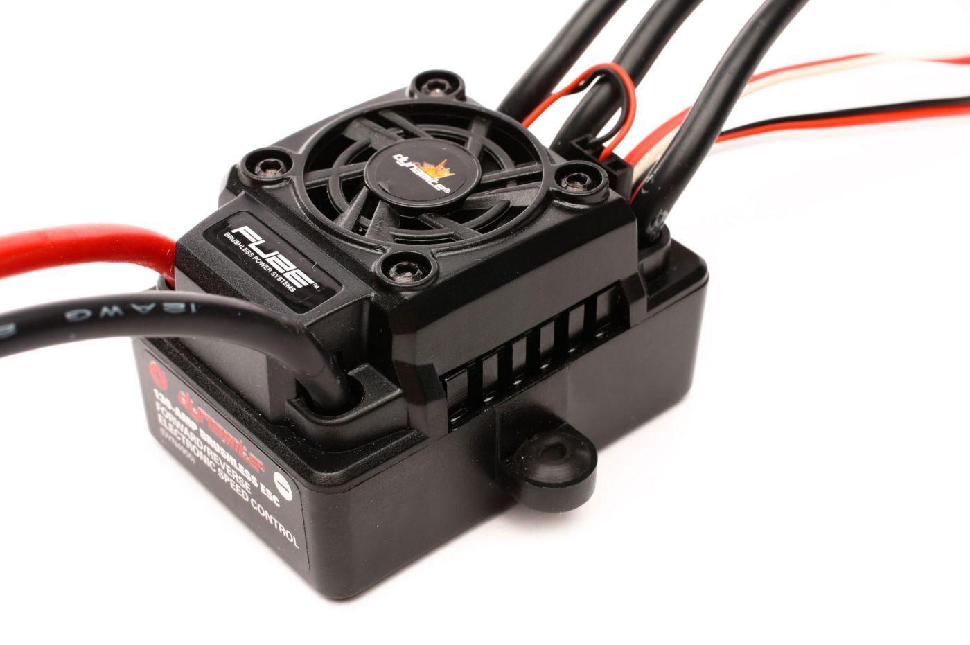 Losi Tenacity SCT RTR DYN4955 Fuze 130A Sensorless Bl WP ESC  4WD SCT 1 8