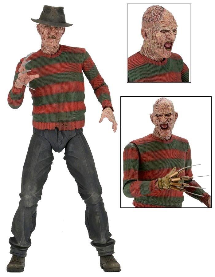 A Nightmare on Elm Street Part 2 Freddy's Revenge - Freddy Krueger 1 4 Scale Set