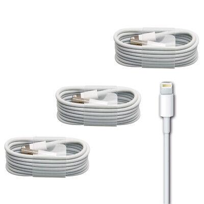 3x Iphone Ladekabel Lightning Kabel Ipad Ipod Plus Air Mini 5 5s 6 6s 7 8 X Xs 100% Garantie