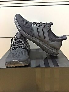 98cceb76a Adidas Ultra Boost LTD Triple Black Men 8 US