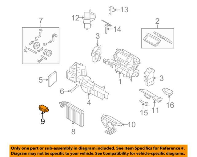 bmw 64119187630 genuine oem expansion valve ebay txv valve explained bmw  txv valve diagram