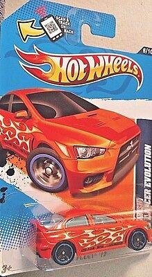 Hot Wheels Mitsubishi 2008 Lancer Evolution HTF Free US Shipping