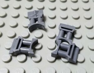 LEGO Lot of 4 Light Bluish Gray Minifig Seats Chairs