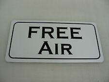 FREE AIR METAL SIGN 4 vintage Gas Pump oil Filling station Garage or man cave