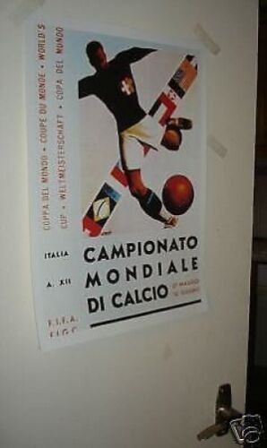1934 World Cup Official Poster REPRO
