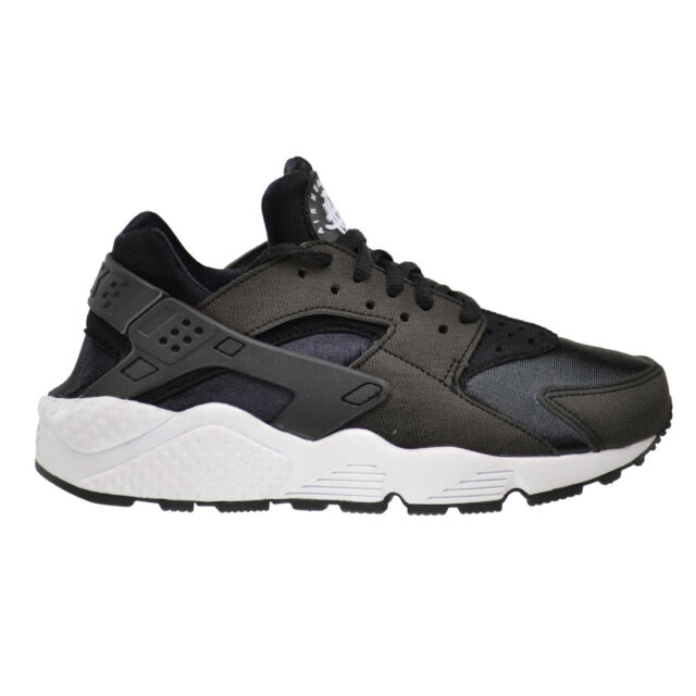 buy sale great deals outlet store sale Nike Air Huarache Run Women's Shoes Black-Black-White 634835-006 ...