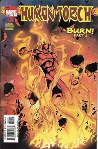 Human-Torch-Comic-6-Cover-A-First-Print-2003-Karl-Kesel-Young-Seung-Marvel
