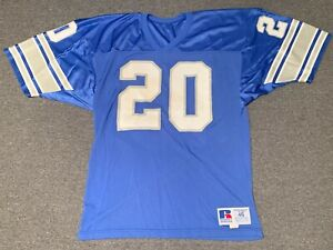 new style 6e5d9 592a4 Details about Vintage Barry Sanders Detroit Lions Russell Athletic Football  Jersey Sz 46 NFL