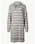 M/&S COLLECTION GREY MIX STRIPED HOODED LOUNGE DRESS